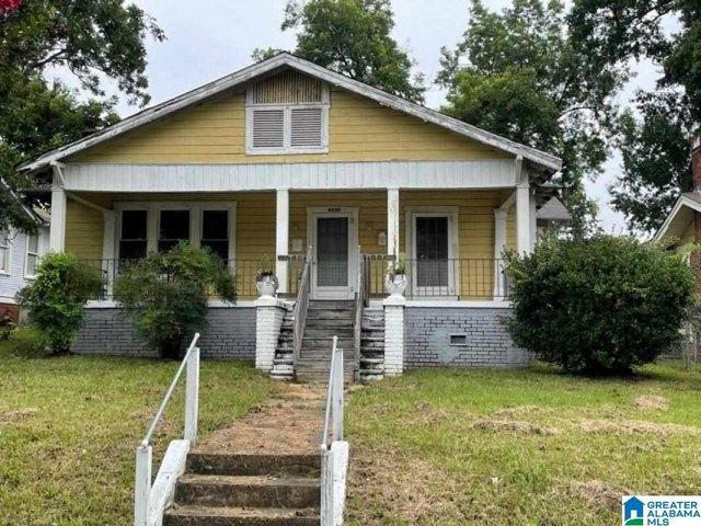 Porch featured at 1020 Graymont Ave W, Birmingham, AL 35204
