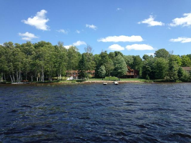 Water front featured at 31730 W H 40, Trout Lake, MI 49793
