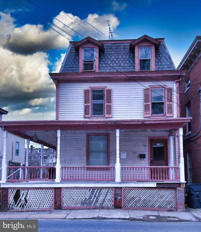 Porch featured at 35 S Main St, Port Deposit, MD 21904