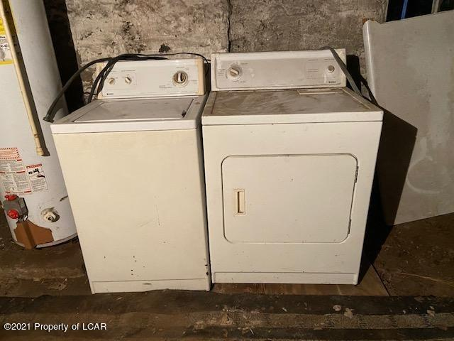 Laundry room featured at 409 S Hanover St, Nanticoke, PA 18634
