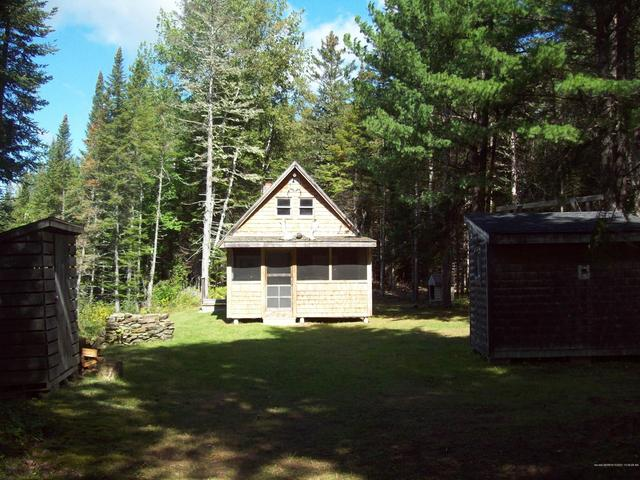 Yard featured at Swimming Hole Rd, Macwahoc Plt, ME 04451