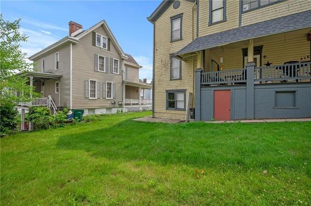 Yard featured at 316 W 3rd St, Greensburg, PA 15601