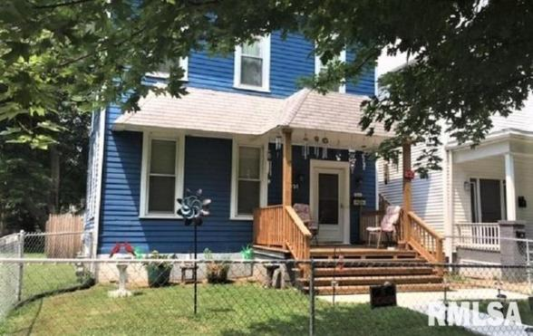 Porch featured at 831 N 7th St, Springfield, IL 62702