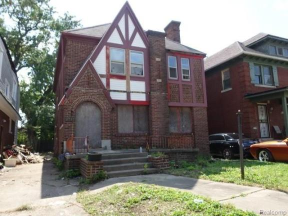 House view featured at 2717 Burlingame St, Detroit, MI 48206