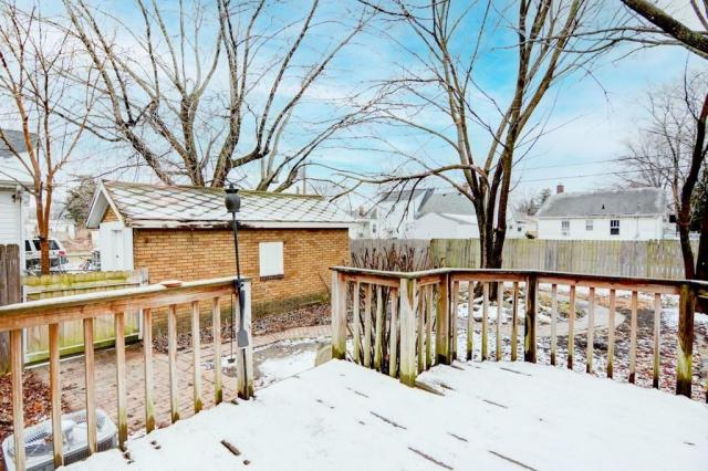 Porch yard featured at 2111 E Wood St, Decatur, IL 62521