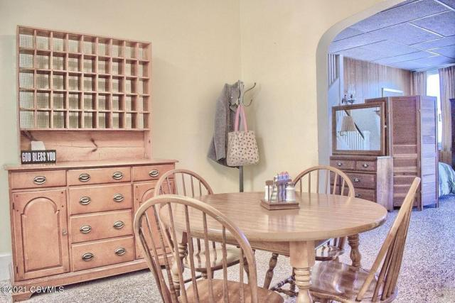 Dining room featured at 164 Main St, Paxinos, PA 17860