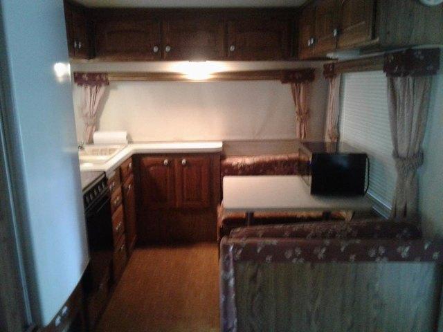 Kitchen featured at 730 Boardman Dr, Bracey, VA 23919