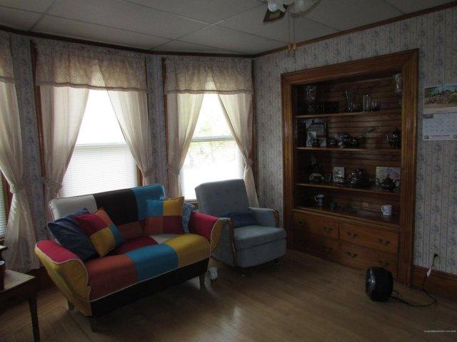 Living room featured at 14 Kelleran St, Houlton, ME 04730
