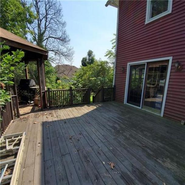 Porch featured at 11993 Butler St, Wolcott, NY 14590