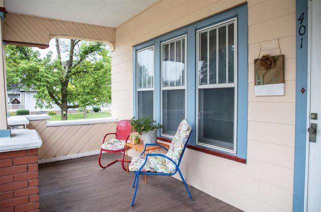 Porch featured at 401 SW 3rd Ave, Tripoli, IA 50676