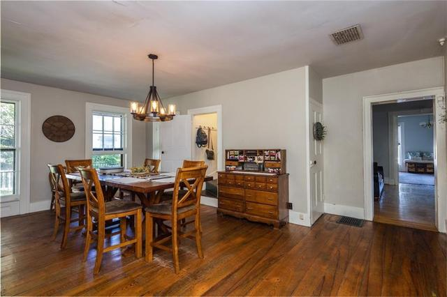 Dining room featured at 31 High St, Lyons, NY 14489