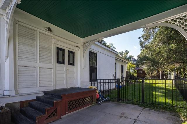 Porch featured at 31 High St, Lyons, NY 14489
