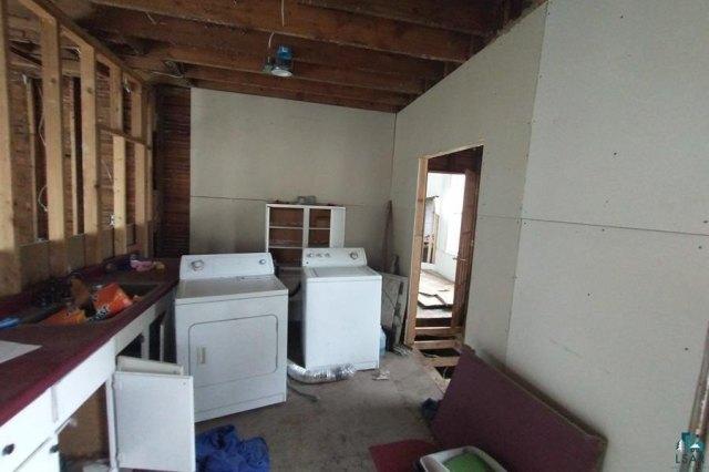 Kitchen featured at 106 S Poplar Ln, Hinckley, MN 55037
