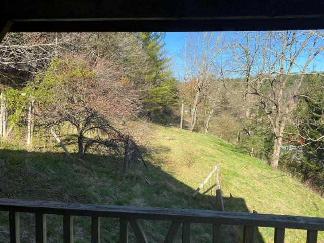 Porch yard featured at 124 Crescent St, Beaver, WV 25813