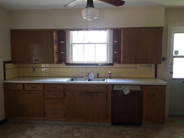 Kitchen featured at 14 S 88th St, Belleville, IL 62223