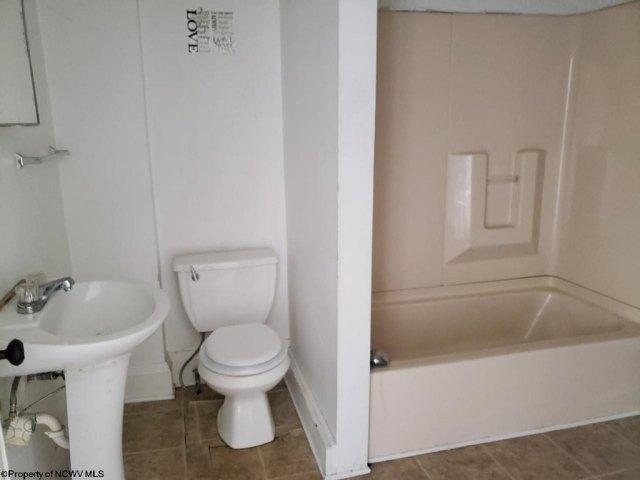Bathroom featured at 430 Duff St, Clarksburg, WV 26301