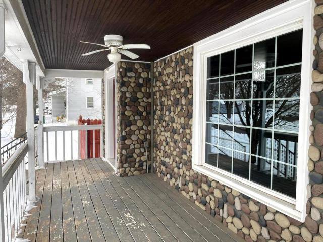 Porch featured at 387 4th St, Tracy, MN 56175