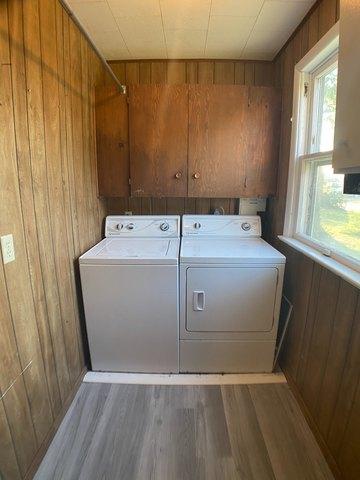 Laundry room featured at 509 W Church St, Logan, KS 67646