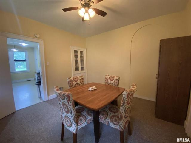 Dining room featured at 132 Chandler Blvd, Macomb, IL 61455