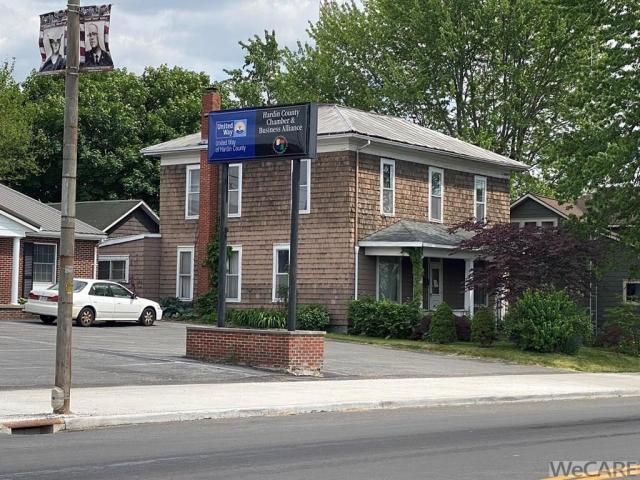 Road view featured at 229 S Detroit St, Kenton, OH 43326