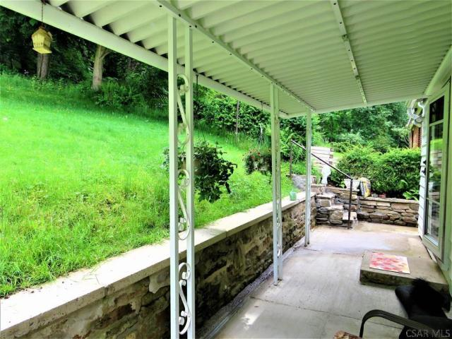 Porch featured at 409 Yeoman St, Johnstown, PA 15906