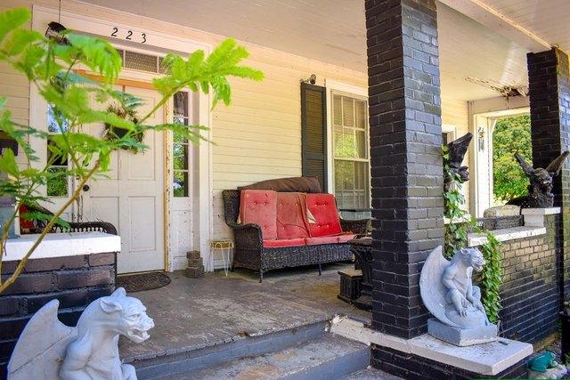 Porch featured at 223 Edisto St, Johnston, SC 29832
