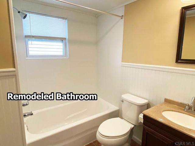 Bathroom featured at 408 Vickroy Ave, Johnstown, PA 15905