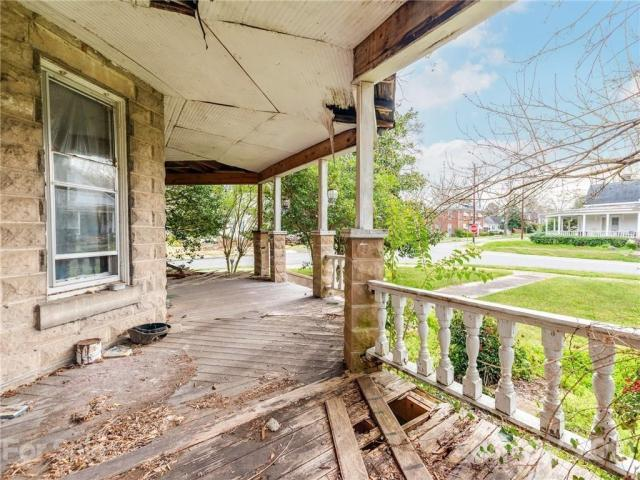 Porch featured at 124 Academy St, Chester, SC 29706