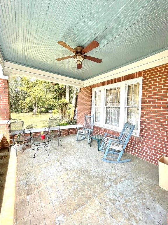 Porch featured at 17234 S Highland Ave, Arlington, GA 39813