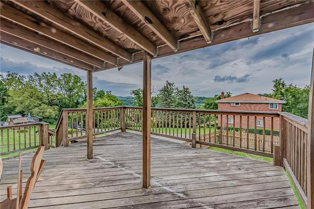Porch featured at 1511 Wesley St, McKeesport, PA 15132