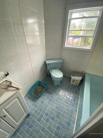 Bathroom featured at 127 6th Ave, Madawaska, ME 04756