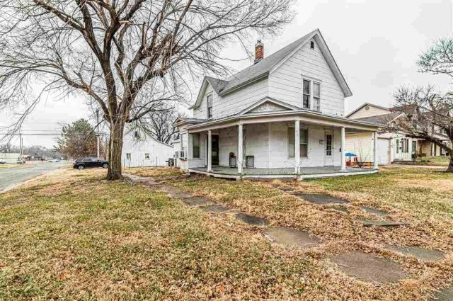 Porch yard featured at 703 W 8th St, Junction City, KS 66441