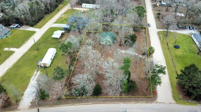 Road view featured at 131 Holliman Dr, Livingston, TX 77351