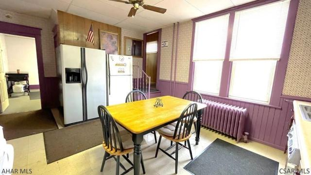 Dining room featured at 182 Gilbert St, Johnstown, PA 15906