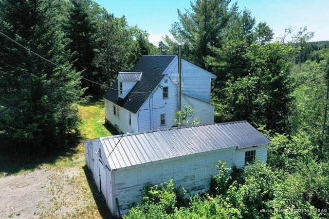 Yard featured at 19 Herring Tract Rd, Willimantic, ME 04443