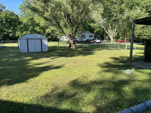 Yard featured at 3832 Flat St, Big Stone Gap, VA 24219