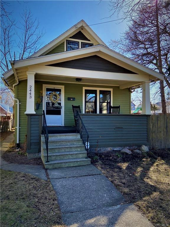 Porch featured at 2443 Willow Ave, Niagara Falls, NY 14305