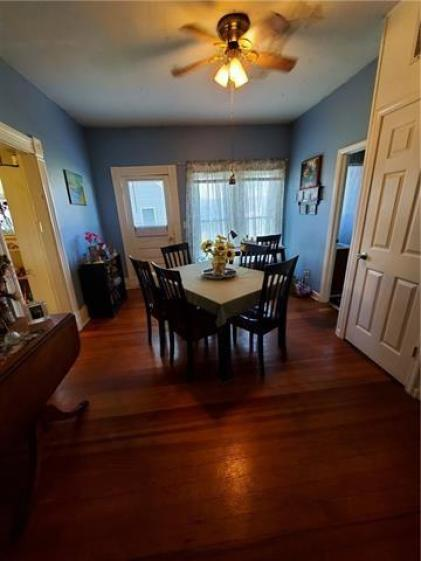 Dining room featured at 217 W State St, Troy, KS 66087