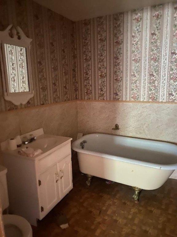 Bathroom featured at 120 Howard St, Caro, MI 48723