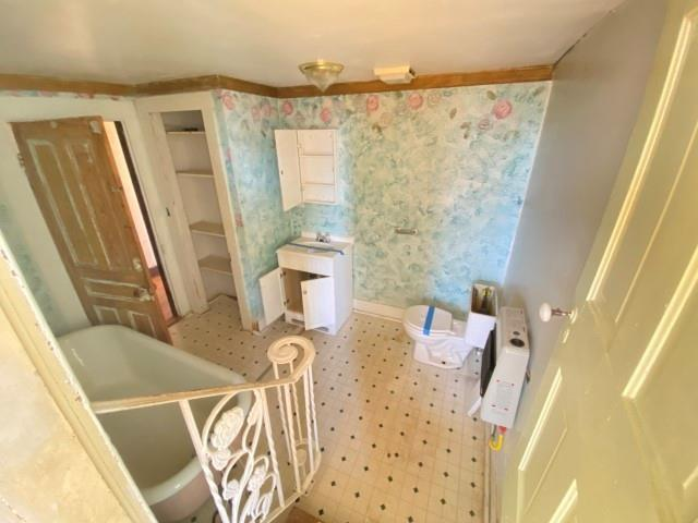 Bathroom featured at 655 N Main St, Chase City, VA 23924