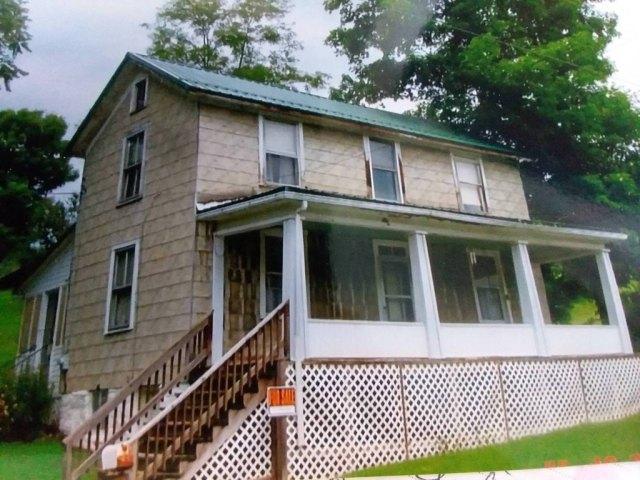 Porch featured at 8179 Hyndman Rd, Buffalo Mills, PA 15534