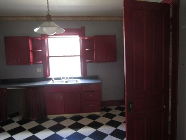 Kitchen featured at 417 W Western Ave, Connersville, IN 47331