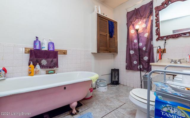 Bathroom featured at 1314 Olive St, Louisville, KY 40211