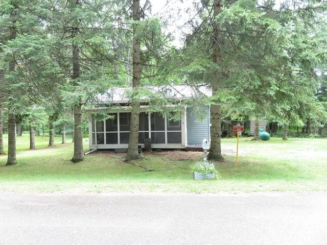 House view featured at 945 Margaret Lake Rd, Three Lakes, WI 54562