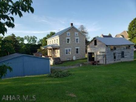 Yard featured at 370 Chestnut St, New Enterprise, PA 16664
