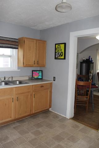 Kitchen featured at 1112 Broadway St, Larned, KS 67550