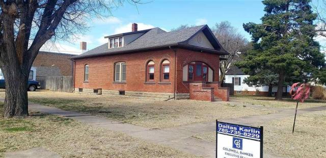 House view featured at 321 E 1st St, Bison, KS 67520