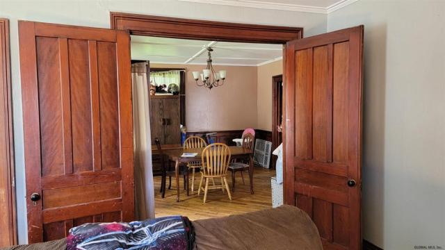 Dining room featured at 29 Reid St, Fort Plain, NY 13339