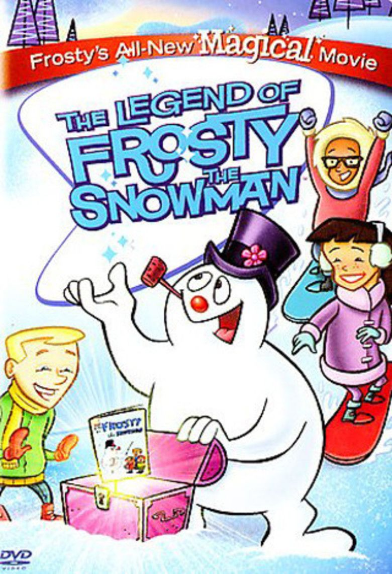 Image result for the legend of frosty the snowman poster