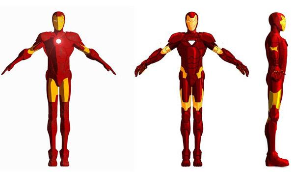 iron man armored adventures armor